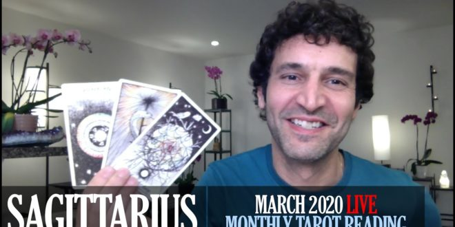 SAGITTARIUS March 2020 Live Extended Intuitive Tarot Reading & Meditation by Nicholas Ashbaugh