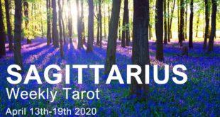 "SAGITTARIUS WEEKLY TAROT READING ""A BREAKTHROUGH SAGITTARIUS!""  April 13th-19th 2020 Tarot Forecast"