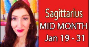 SAGITTARIUS WILD RIDE!!! JAN 19 TO 31