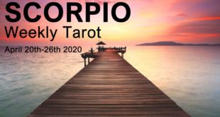 "SCORPIO WEEKLY TAROT READING  ""BLOSSOMING ABUNDANCE SCORPIO!""  April 20th-26th 2020 Forecast"