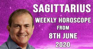 Sagittarius Weekly Horoscope from 8th June 2020