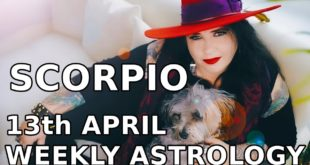 Scorpio Weekly Astrology Horoscope 13th April 2020