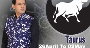 Taurus Weekly Horoscope 26 April To 2nd May 2020