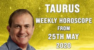 Taurus Weekly Horoscope from 25th May 2020