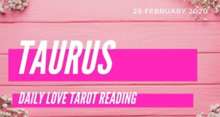 Taurus daily love tarot reading 💕 THEY HAVE HOPE ON THIS CONNECTION 💕 28 FEBRUARY 2020