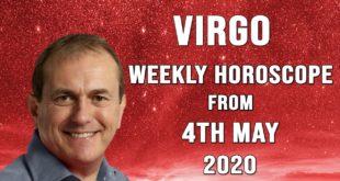 Virgo Weekly Horoscope from 4th May 2020