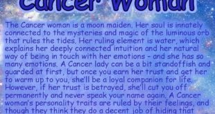 What Cancer women are all about?? Find out! ------- Follow  for more fun facts, ...