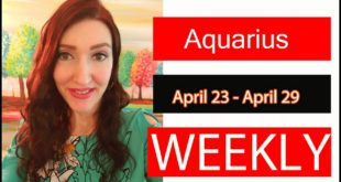 AQUARIUS WEEKLY LOVE THIS READING SHOCKED ME!!! SURPRISING ENDING!!! APRIL 23 TO 29