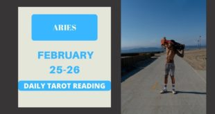 "ARIES - ""YOU DON'T TRIGGER AN ARIES"" FEBRUARY 25-26 DAILY TAROT READING"