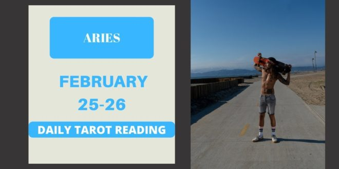 """ARIES - """"YOU DON'T TRIGGER AN ARIES"""" FEBRUARY 25-26 DAILY TAROT READING"""