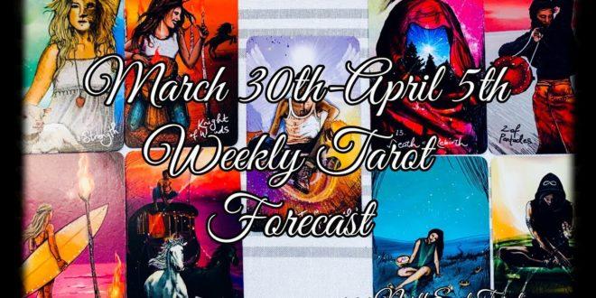 Aquarius Weekly Forecast March 30th-April 5th ♒️💙🌙✨