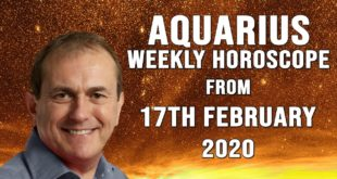 Aquarius Weekly Horoscope from 17th February 2020