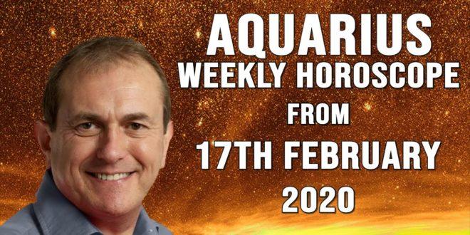 Aquarius Weekly Horoscope from 17th February 2020