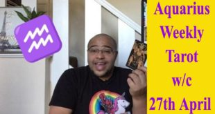 Aquarius Weekly Tarot - The Temperant Run - 27th April - 2nd May 2020 #Aquarius #WeeklyTarot
