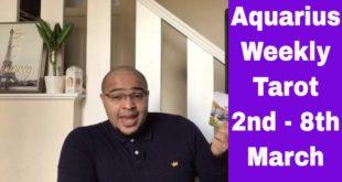 "Aquarius Weekly Tarot - ""A FRESH approach to ABUNDANCE!"" - 2nd-8th March 2020 #Aquarius #WeeklyTarot"