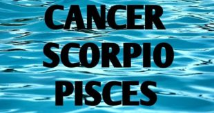 CANCER, SCORPIO, PISCES- DAILY LOVE MESSAGE 💗