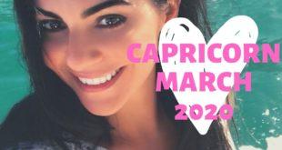 CAPRICORN MARCH 2020: SOMEONE PULLS YOU CLOSE! Love & General Horoscope.