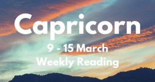 CAPRICORN THINGS WILL GO IN YOUR FAVOUR! MARCH 9th - 15th