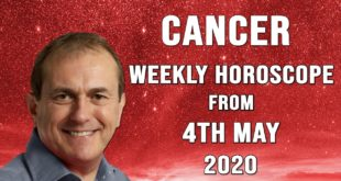 Cancer Weekly Horoscope from 4th May 2020