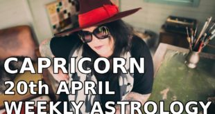 Capricorn Weekly Astrology Horoscope 20th April 2020