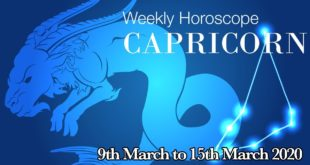 Capricorn Weekly Horoscope From 9th March 2020 | Preview