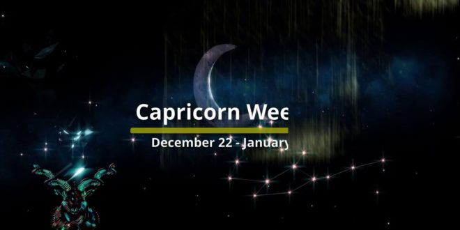 Capricorn Weekly Horoscope June 1st  June 7th