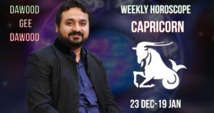 Capricorn weekly Horoscope June15 to June 21