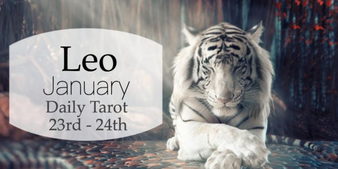 LEO JAN 23rd - 24th | THEY LOW KEY WISH YOU'D MAKE A MOVE - Leo Tarot Love Reading