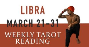 "LIBRA - ""BE READY THE PAST IS COMING"" MARCH 21-31 WEEKLY TAROT READING"