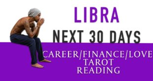 "LIBRA - ""NOT THE TIME TO GIVE UP"" NEXT 30 DAYS CAREER/FINANCE/LOVE"