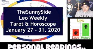 Leo Weekly Tarot & Horoscope: January 27 -31, 2020