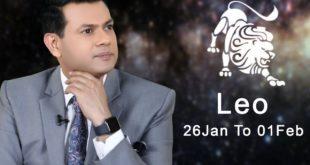 Leo Weekly horoscope 26th January To 1st February 2020