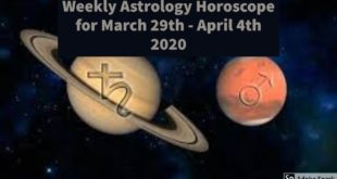MARS CONJUNCT SATURN IN AQUARIUS | Weekly Astrology Horoscope for March 29th - April 4th 2020