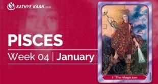 PISCES WEEKLY PSYCHIC TAROT READING  | HOROSCOPE | WEEK 04 | JANUARY 20 -26