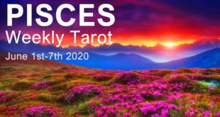 """PISCES WEEKLY TAROT READING """"NEW LOVE, NEW CHEMISTRY PISCES!"""" June 1st-7th 2020 Intuitive Forecast"""