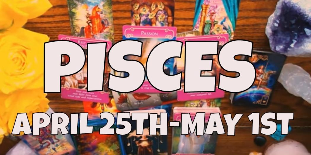 """PISCES """"SECRET FEELINGS ARE COMING TO THE SURFACE"""" APRIL 25TH-MAY 1ST LOVE TAROT/YOU VS THEM"""