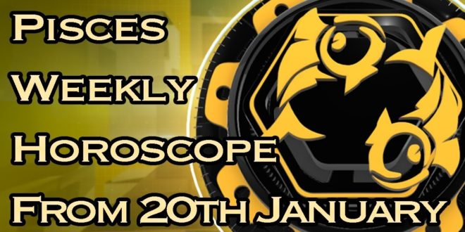 Pisces Weekly Horoscope From 20th January 2020 In Hindi   Preview