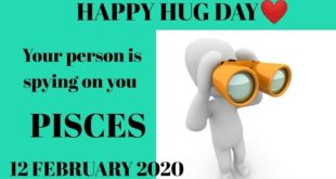 Pisces daily love reading 💞 YOUR PERSON IS SPYING SO MUCH ON YOU 💞 12 FEBRUARY 2020
