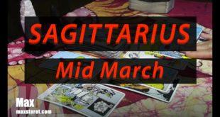 SAGITTARIUS 💯An unexpected shift  - March 2020 Mid Month - Love Tarot Reading