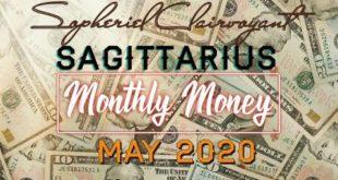 "SAGITTARIUS MONTHLY MONEY ""DECISIONS?!? MAY 2020"