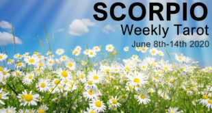 """SCORPIO WEEKLY TAROT READING  """" June 8th-14th 2020 Intuitive Forecast"""