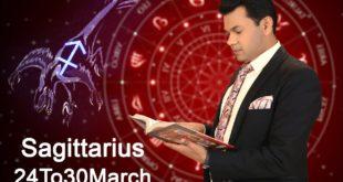 Sagittarius Weekly Horoscope 24MarchTo30March 2020