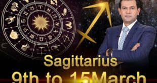 Sagittarius Weekly Horoscope 9MarchTo15March 2020