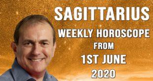 Sagittarius Weekly Horoscope from 1st June 2020