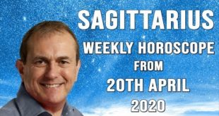 Sagittarius Weekly Horoscope from 20th April 2020