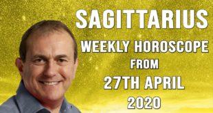Sagittarius Weekly Horoscope from 27th April 2020