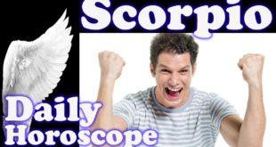 Scorpio FRIDAY 7 February 2020 TODAY Daily Horoscope Love Money Scorpio 2020 7th Feb Weekly