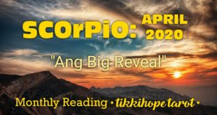 "Scorpio Monthly: ""Ang Big Reveal"" (April 2020)"
