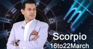 Scorpio Weekly Horoscope 16MarchTo23March 2020