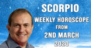 Scorpio Weekly Horoscope from 2nd March 2020